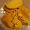 Delicious mangos from Idylwilde, peeled and cut by Hy.