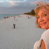 Naples Beach @ sunset with the best girlfriend I ever had!