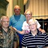 John Francis Donaldson, Dick and Joyce Bailey, and Gerald Thomas Donaldson. Joyce Bailey's brother also lives in The Villages. March 18, 2013
