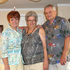 Joanne Donaldson Asproulis Nemitz, Sandra Spurling Wiborg, John Francis Donaldson, Mar 20, 2013 At Sandy's place in Lakeland Florida