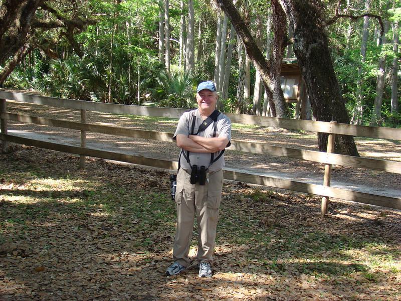 April 27, 2012, (Fisheating Creek Wildlife Management Area / Glades County, Florida) -- David [photo taken by Ken Tarbox