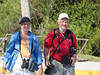 April 23, 2012 (Everglades National Park [near Shark Valley visitor center] / Miami-Dade County, Florida) -- Mary Anne & David [photo taken by Ken Tarbox]
