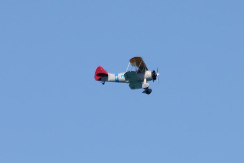 April 25, 2012, (Naval Air Station Key West [over harbor] / Key West, Monroe County, Florida) -- Bi-plane
