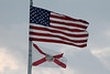 April 20-29, 2012 (Florida) -- United States and Florida State flags