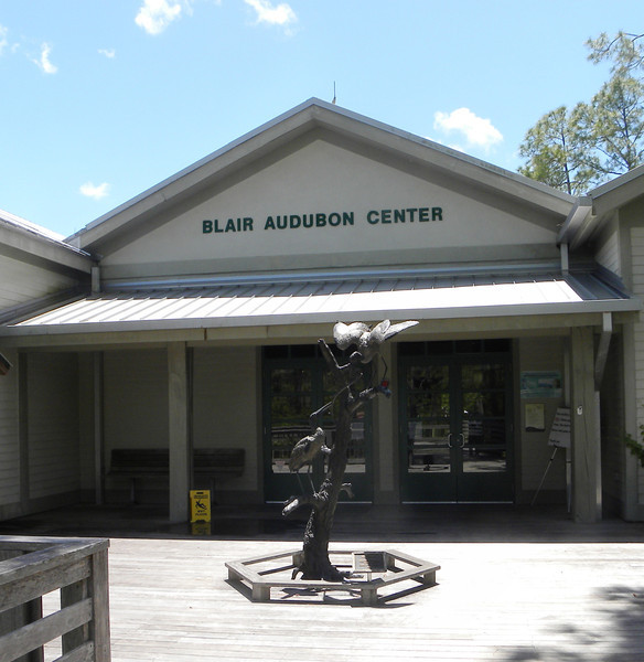 April 22, 2012 (Corkscrew Swamp Sanctuary / Collier County, Florida) -- Audubon visitor center entrance