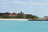"April 24, 2012, (Dry Tortugas National Park [from ""Yankee Freedom II""] / Garden Key, Monroe County, Florida) -- Fort Jefferson enroute to docking"