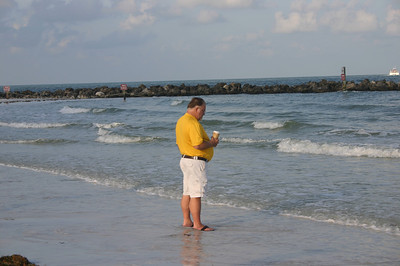 Bruce on Clearwater Beach ( 2011 )