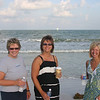 Lynann, Lori and Angie on the beach in Florida ( 2011 )