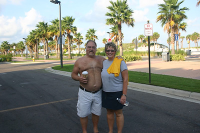 Bruce and Lynann in Clearwater Beach Florida ( 2011 )