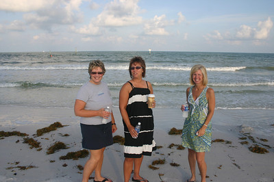 Lynann, Lori and Angie at Clearwater Beach Florida ( 2011 )