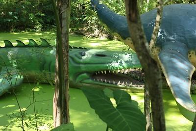 Dinosaur World, Plant City, Florida.