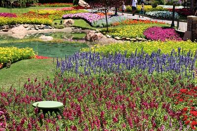 Walt Disney World: Epcot, during the International Flower & Garden Festival.