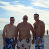 Todd, Larry and Cory on St. Pete's Beach ( 2012 )