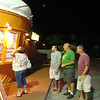 Fran, Cory, Larry and Todd get ice cream at St. Pete's Beach Florida ( 2012 )