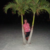 Lori by a palm tree on St. Pete's Beach ( 2012 )
