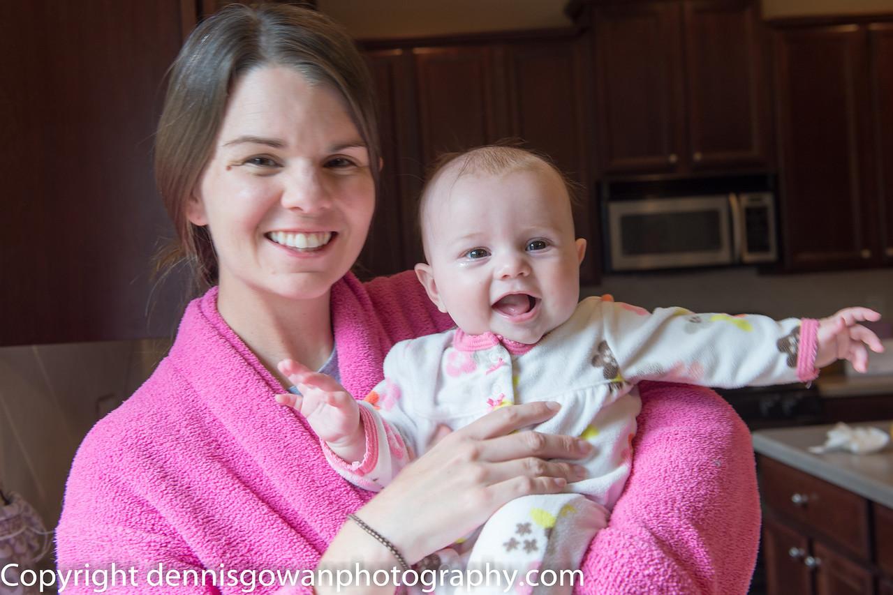 Sarah and Kaylee