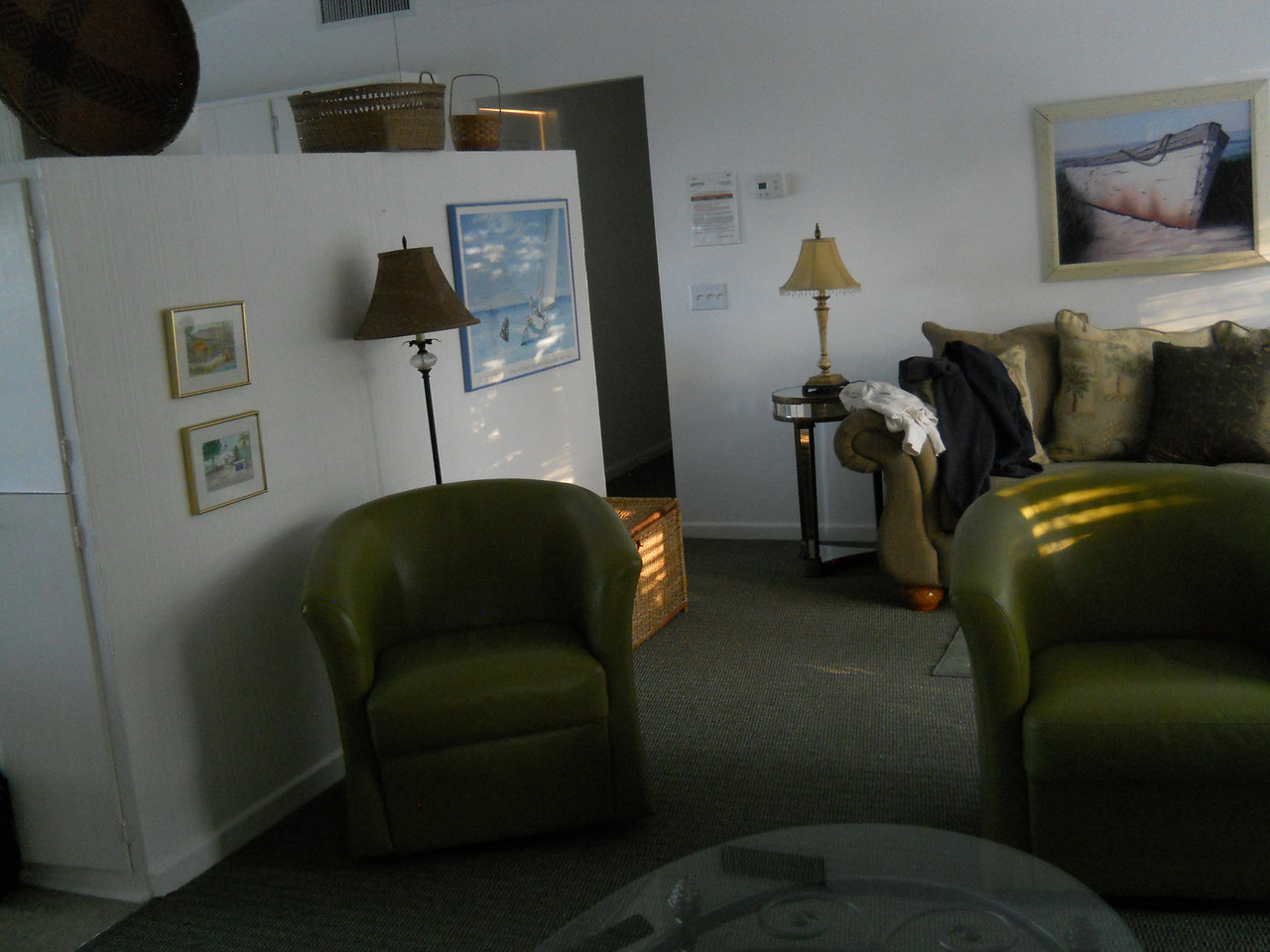 part of the living room area