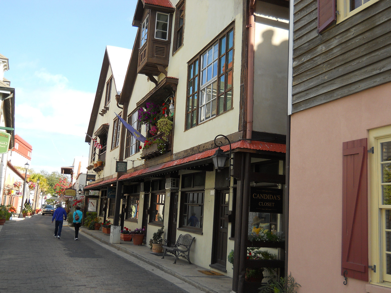 One of the small historic streets