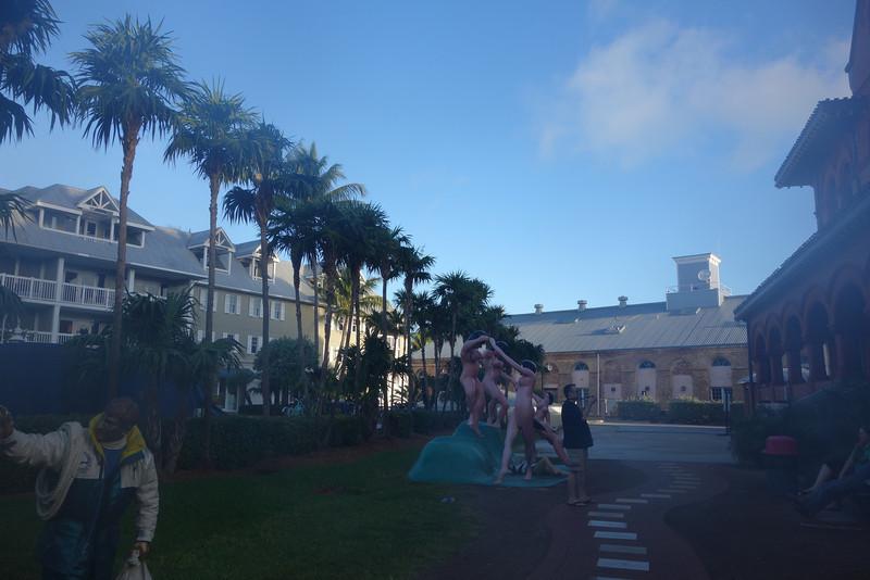 Area around the Art Museum