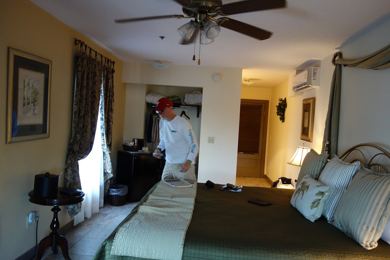 Our room at the St. George Inn in St. Augustine