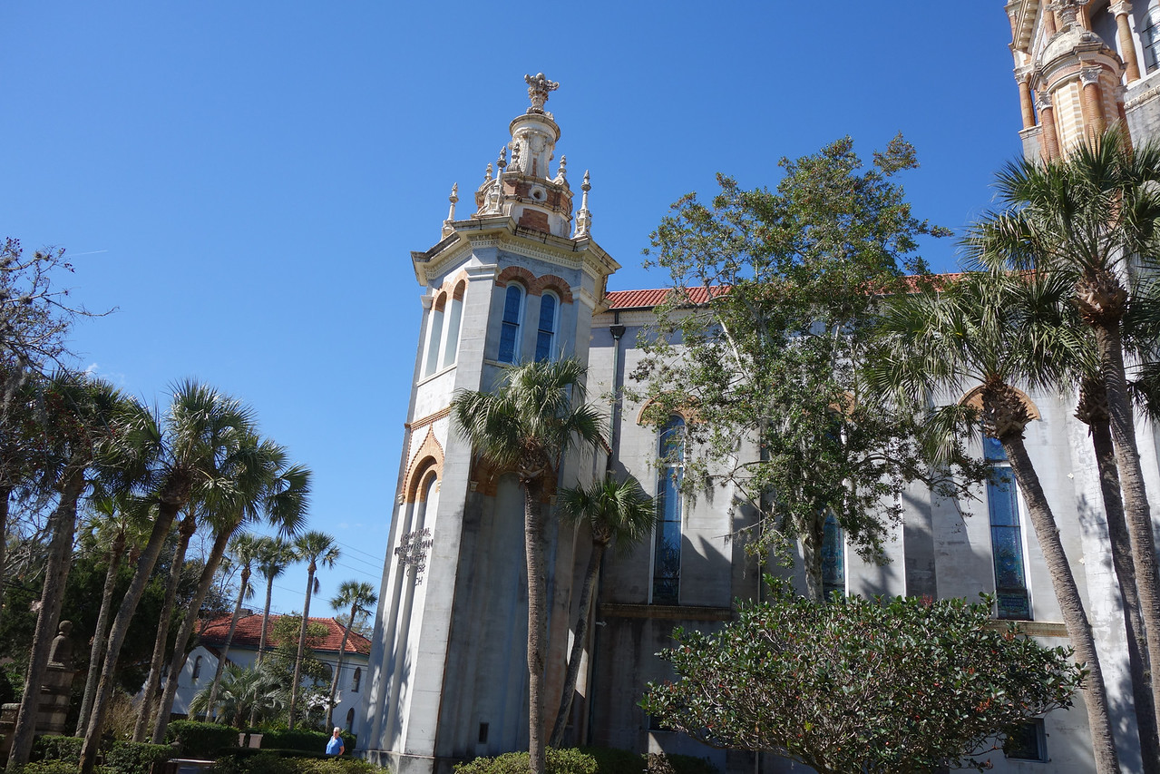 Another view of the Memorial Presbyterian Church.  Built by Henry Flagler as a memorial to his daughter, Jennie Flagler Benedict who died as a result of childbirth in 1889