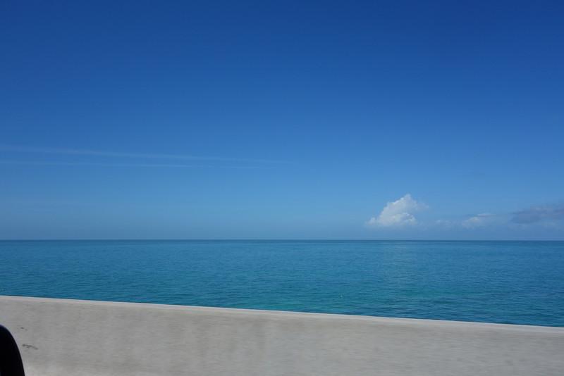 Beautiful views over the ocean