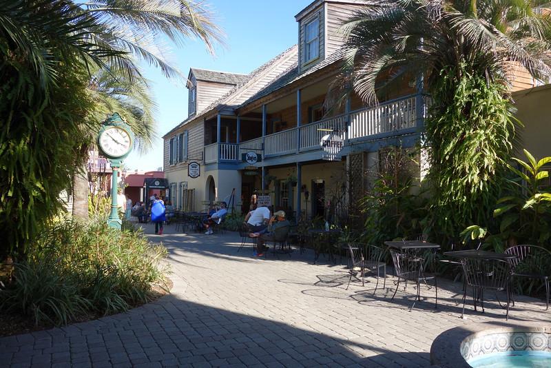 St. George Inn Courtyard