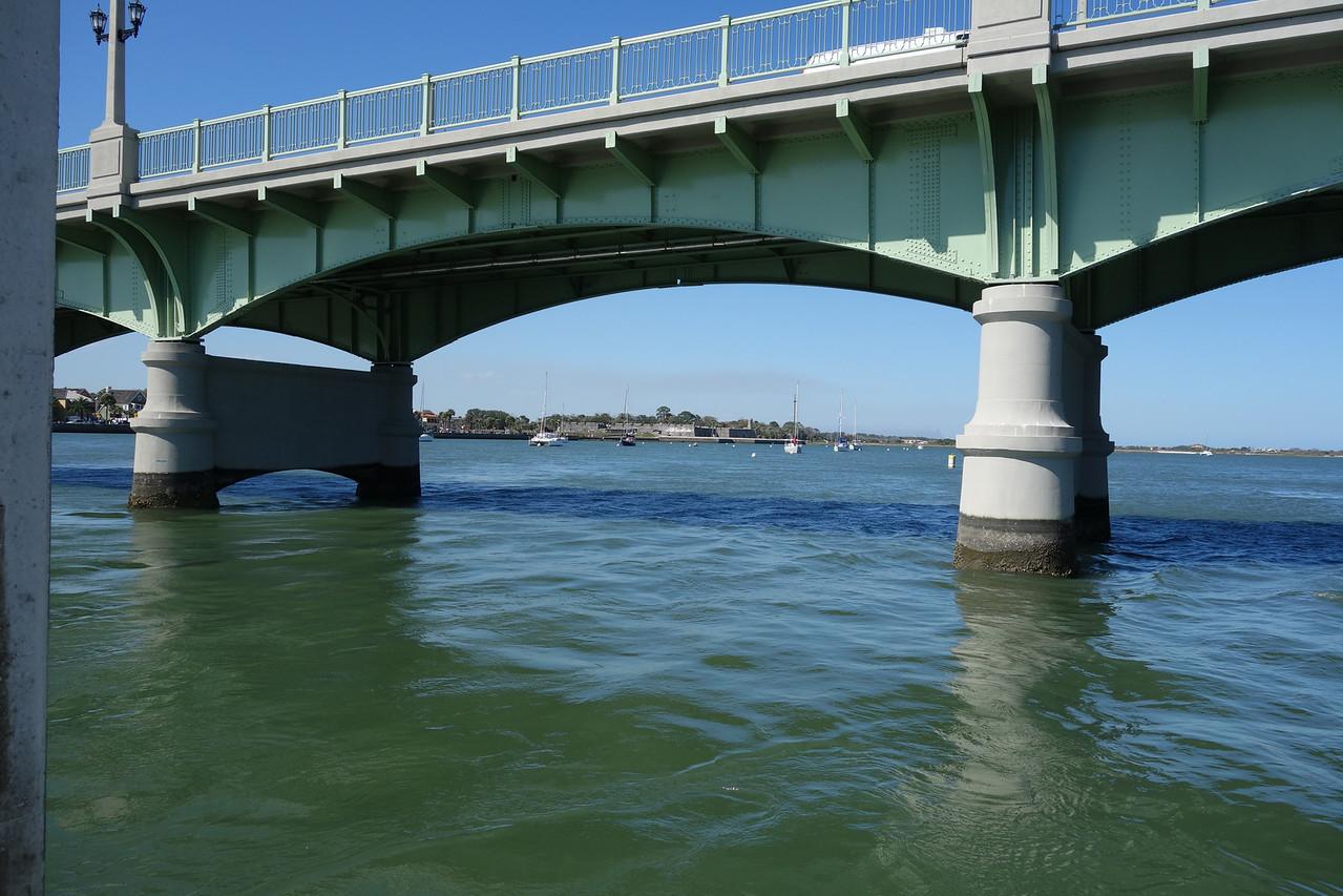 looking under Lions Bridge