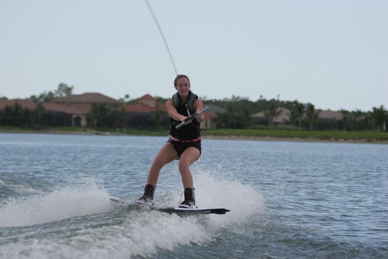 Shelby wake boarding