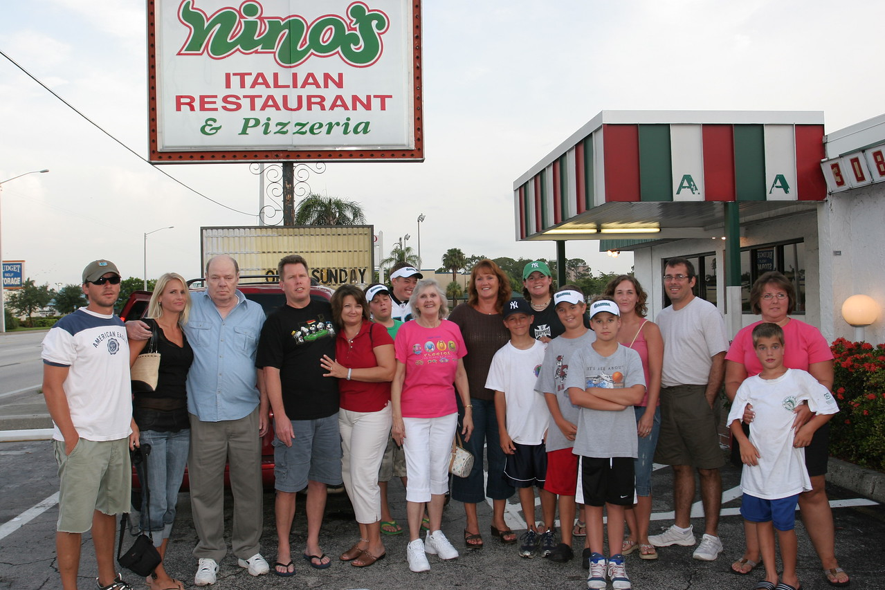 Dinner at world famous Nino's