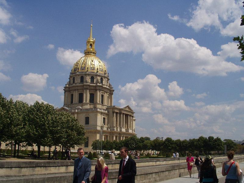 Les Invalides, site of Napoleon's Tomb