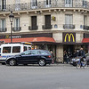 McDonald's is doing a rip-roaring business in France. I suppose there are those who enjoy that kind of food but I suspect the attractive McDonald's prices also help keep the stores packed with customers. We did eat twice at McDonald's.