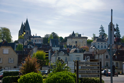 The town of Loches