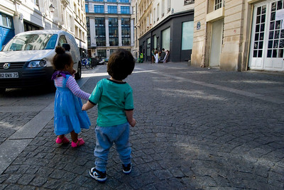 Cute little French kids.