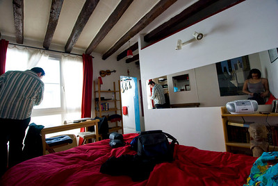 Our tiny apartment in Paris 43 Rue Des Gravilliers