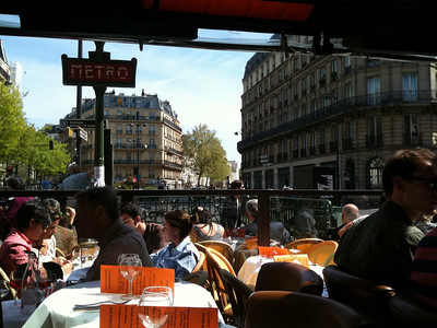 The Cafe at des Arts et Metiers
