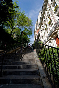 Steps to the Sacre Coeur
