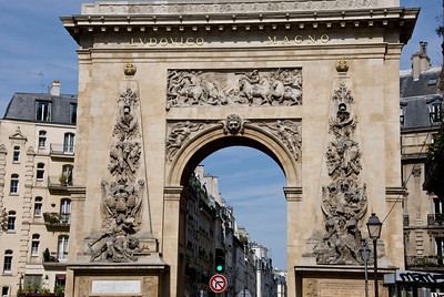 One of the many Street arches in the city