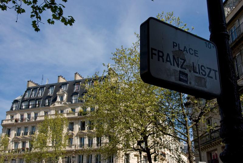 Franz Liszt Place.