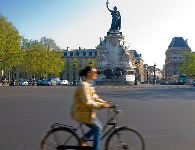 Parisians around Republique