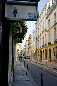 Streets around the 3rd district of Paris