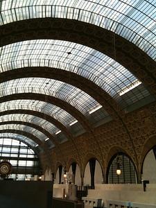 Inside the Orsay shhh!
