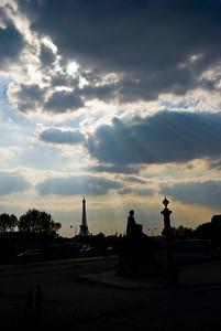 Another beautiful Paris sunset!