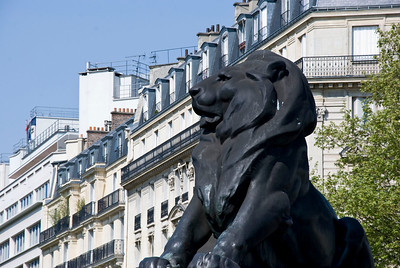Another cool Lion statue.  This was on the Champs-Elysees.
