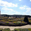The gardens at Versailles.