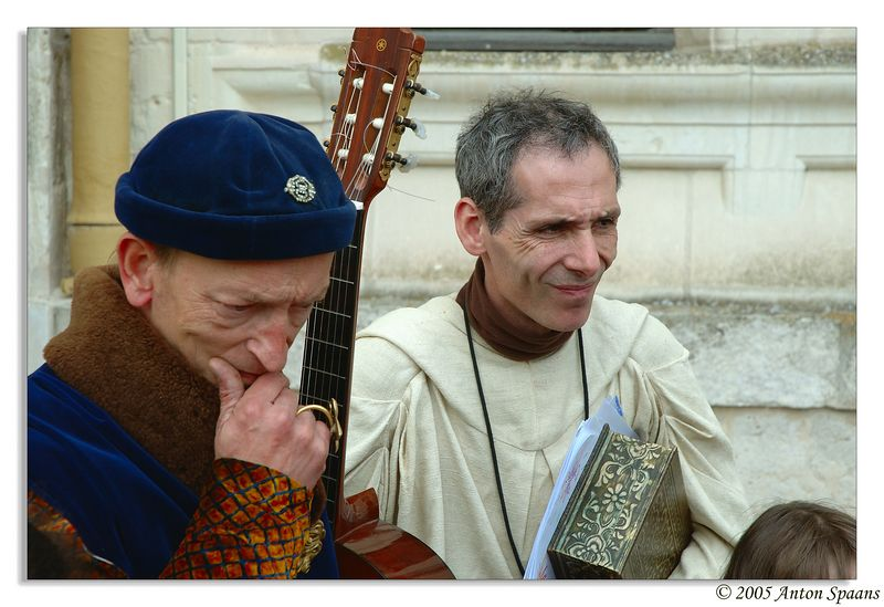 17. The Bard and The Monk.