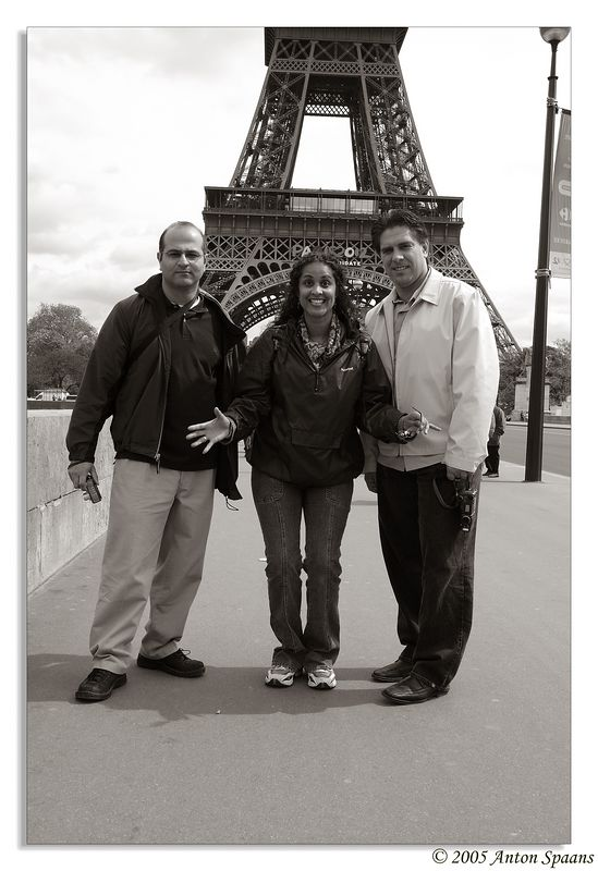 41. Some black and whites:<br/> Pont d'Iena