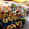 Every day is market day at the Cours Saleya - with the flower, fruit & vegetable market on Saturday.