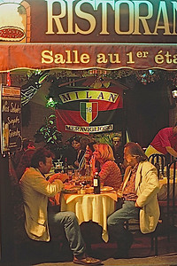 Alfresco Dining, Paris, France