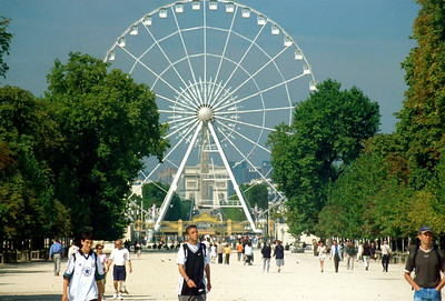 Ferris Wheel, Champs Elysee, Paris, France